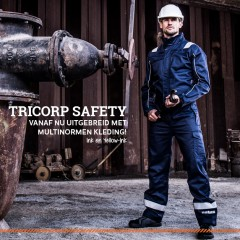 Tricorp Safety komt met multinorm kleding