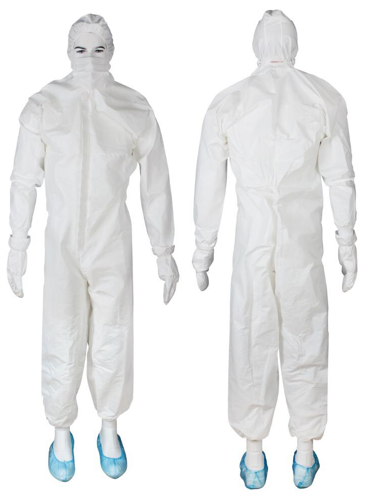 Overall ESC-01 - HMG 415007 Disposable Hooded Jumpsuit